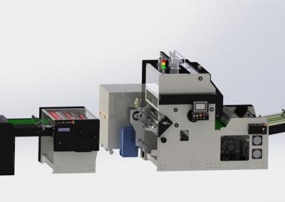 Ламинираща машина ATA STS+Stacker