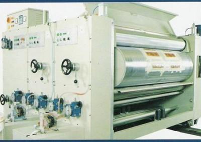 Флексо принтер, слотер, ротационна щанца, стакер NR 1800X1676