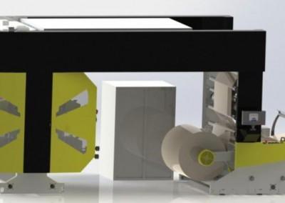 Флексо печатна машина  Flextra 900 – 6 Colour