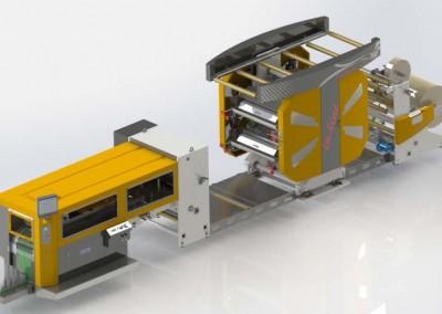 Машина за хартиени пликове Bag Master LX 4 color