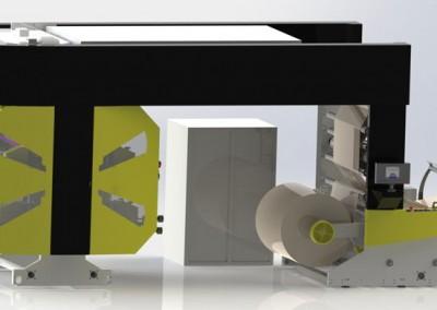 Флексо печатна машина  1250 – 4 Colour