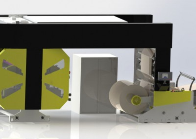 Флексо печатнa машинa Flextra 900 – 4 Colour