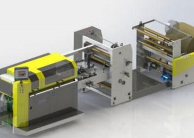 Машина за хартиени пликове Bag Master W- Flat&Satchel