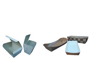 Картонени кутии за еднократна употреба
