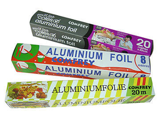 Домакинско алуминиево фолио